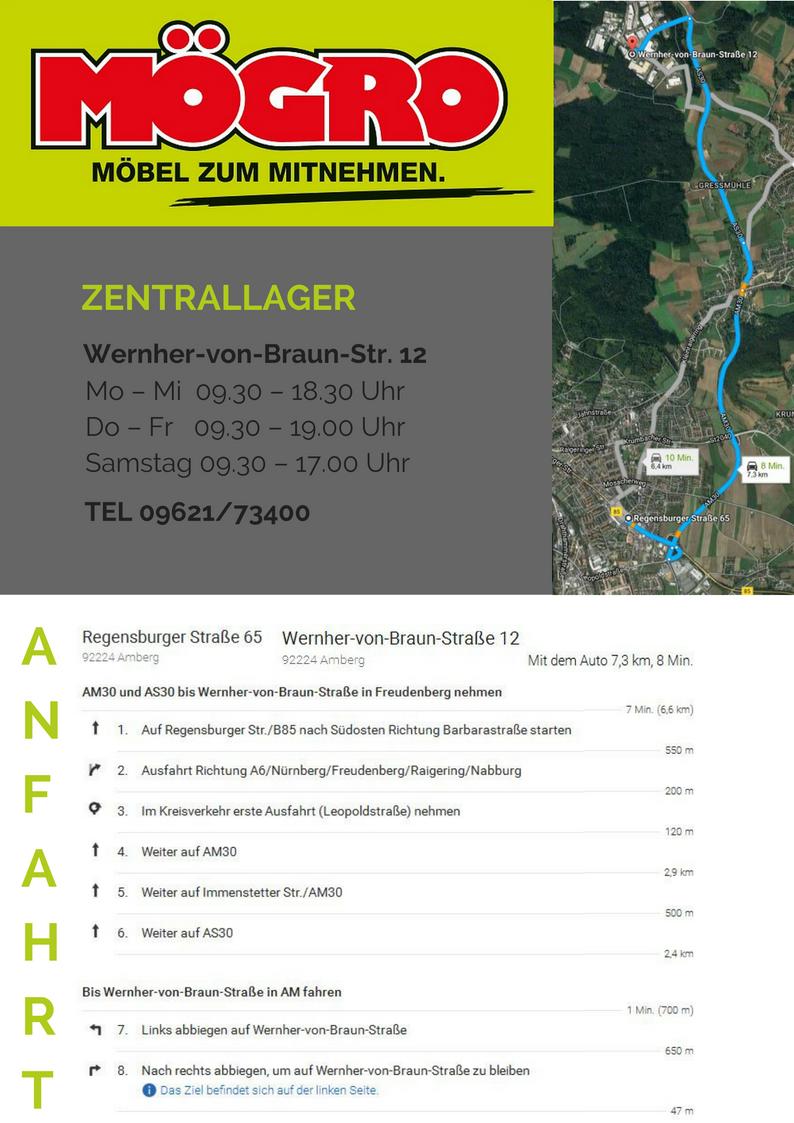 Likeable Nürnberg Möbelhaus Collection Of Fahrtplan Von Unserem Mö Zu Unserem Lager: